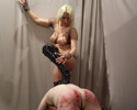 Brutal female domination