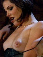 Bobbi Starr dominates and humiliates fresh manmeat and uses him as a tool for her own sexual gratifi...